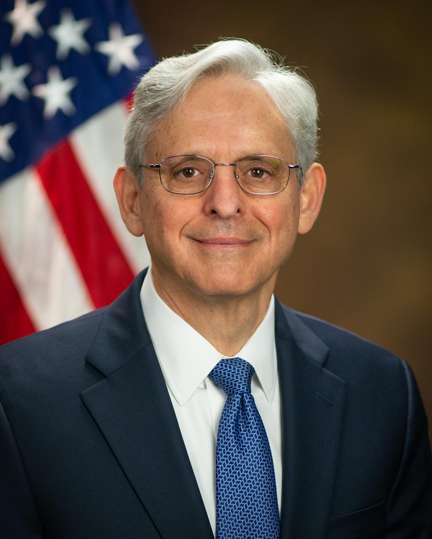 Merrick B. Garland, headshot