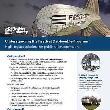 FirstNet Deployables