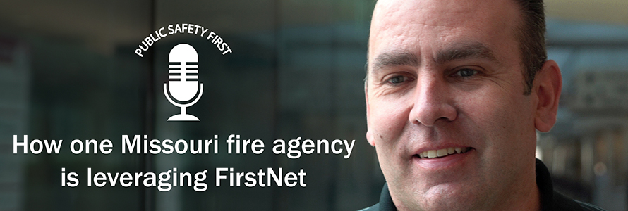 Chris Denney, Division Chief of the Southern Platte (MO) Fire District, to discuss how firefighters at his agency are using FirstNet to enhance daily operations