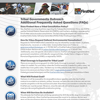 Cover of Tribal Factsheet