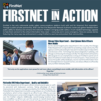 FirstNet in Action for Law Enforcement 2019