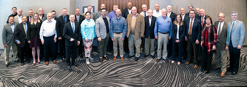 PSAC members and the FirstNet team at the Fall 2018 PSAC meeting.