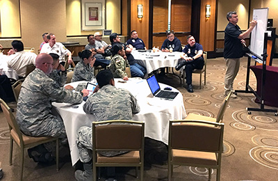FirstNet Authority holds technology and operations workshop in Guam with about 80 public safety stakeholders.