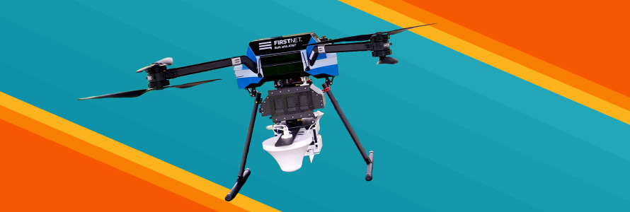 FirstNet Flying Cell on Wings