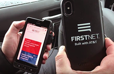 Today, public safety agencies are already experiencing the benefits of PTT apps on FirstNet as a collaboration tool.