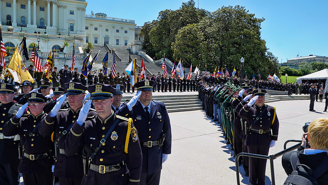 During National Police Week, officers from around the nation gather to pay tribute to the fallen.